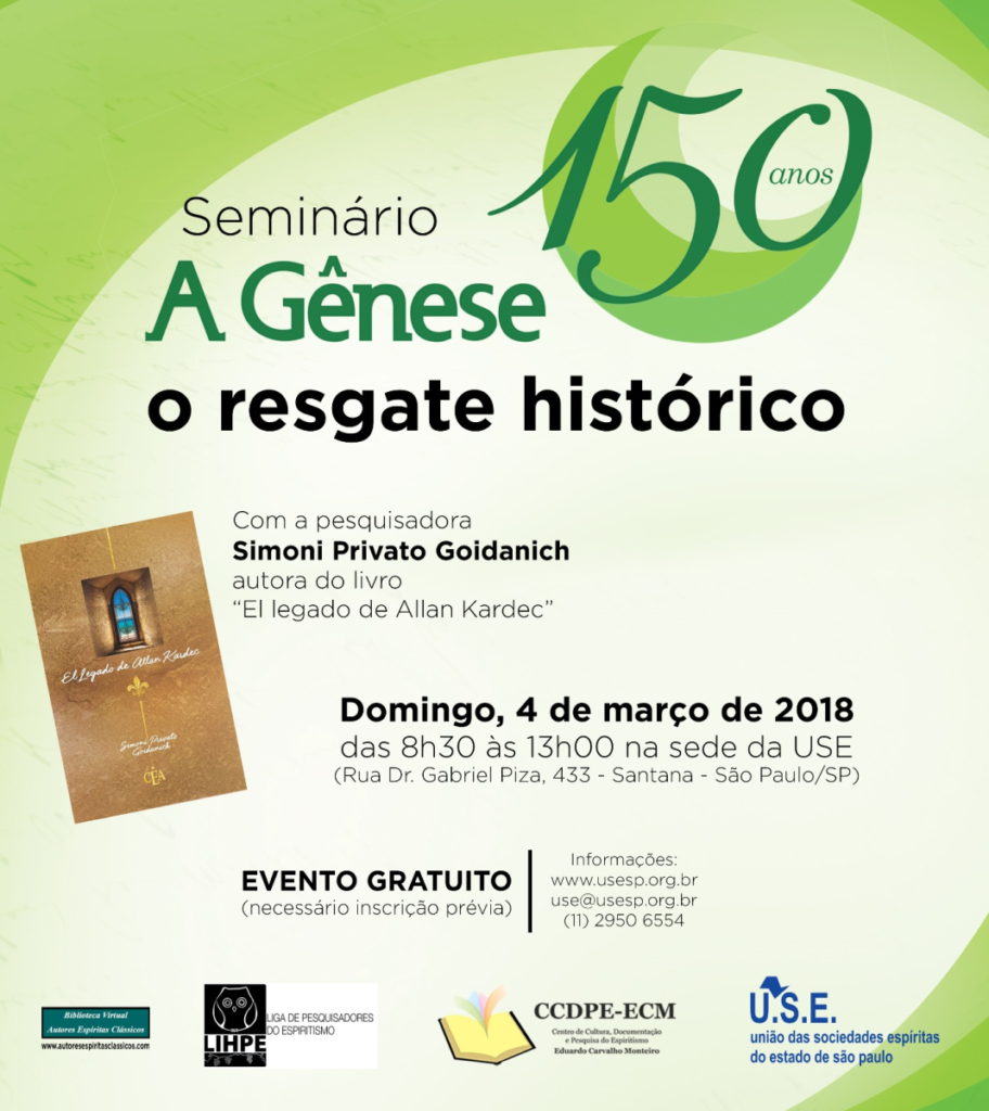 Seminário a Gênese 150 Anos