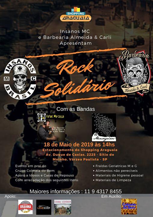 Rock Solidario em Prol da Colmeia